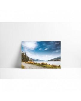 Cuadro en lienzo P001 Montaña Nubosa