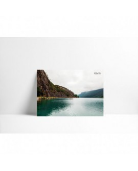Cuadro en carton pluma P002 Lago Tranquilo
