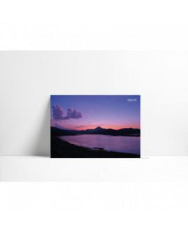 Cuadro en carton pluma P006 Cielo Púrpura