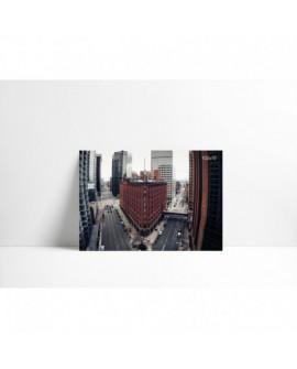 Cuadro en carton pluma P009 Ciudad Roja