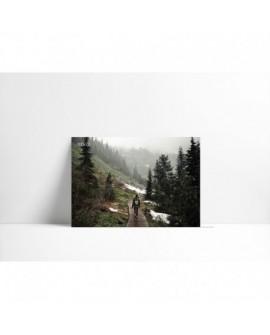 Cuadro en carton pluma P010 Paseo Alpino