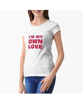 Camiseta Own Love Corte Entallado