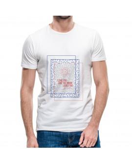 Camiseta Love Sun Corte Recto