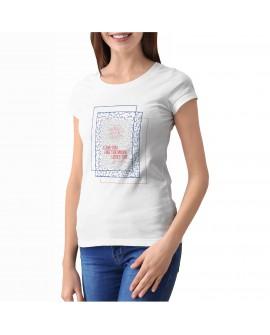 Camiseta Love Sun Corte Entallado