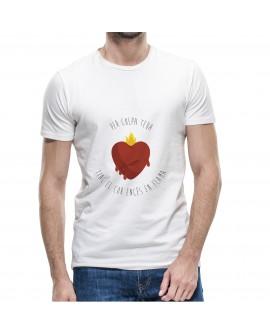 Camiseta Encés en Flama Corte Recto