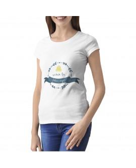Camiseta Visca la Fallera Major Corte Entallado
