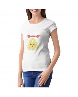 Camiseta Peineticono Love Personalizada Corte Entallado