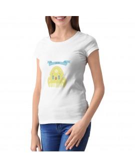 Camiseta Peineticono Cry Personalizada Corte Entallado