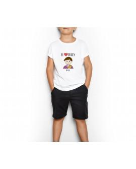 Camiseta Jo Cor Falles Bru Personalizada Infantil