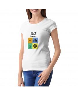 Camiseta Pilars Fallers Corte Entallado
