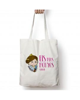 Tote Bag Els Meus Monyos Bruna Personalizada