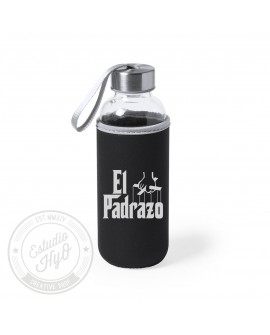 Botella Con Funda El Padrazo