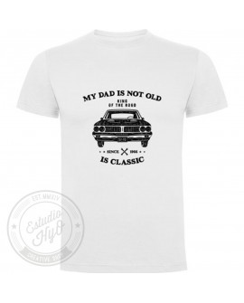 Camiseta My Dad Is Not Old Personalizada