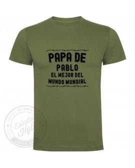 Camiseta Mejor Papa Mundial Personalizada