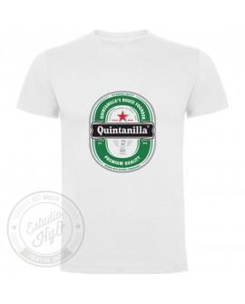 Camiseta Etiqueta Cerveza Personalizada