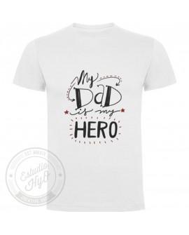 Camiseta Dad My Hero