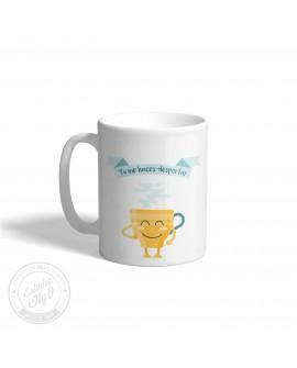 Taza Cerámica Despertar Café