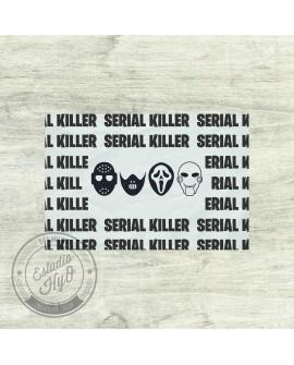 Mantel Individual Serial Killer Negro