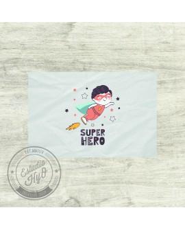 Mantel Individual Super Heroe