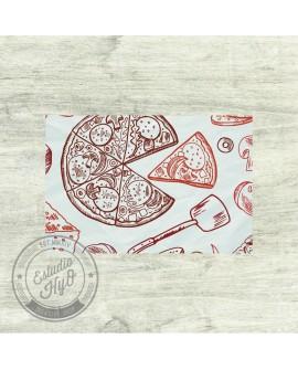 Mantel Individual Pizza