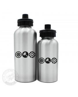 Botella Aluminio Superheroes