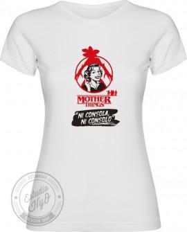 Camiseta Mother Things Consola Corte Entallado