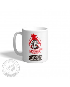 Taza Cerámica Mother Things A que voy