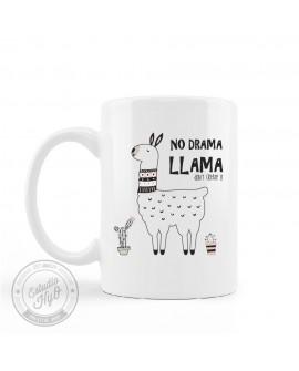 Taza Plástico No Drama Llama