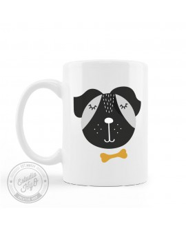 Taza Plástico Perro Personalizada