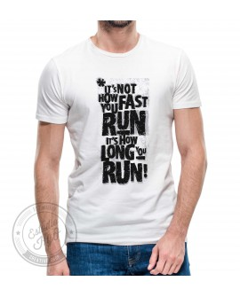 Camiseta Long Run Corte Recto