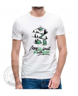 Camiseta Forest Corte Recto