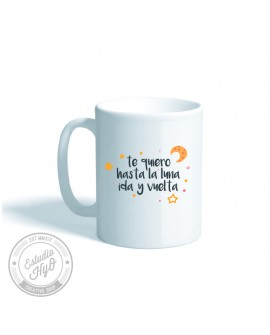 Taza Cerámica To The Moon