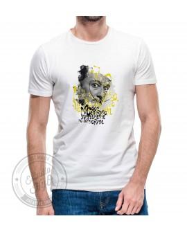 Camiseta Dali Corte Recto