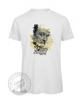 Camiseta Dali Algodón Orgánico Corte Recto