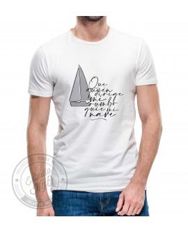 Camiseta Rumbo Corte Recto