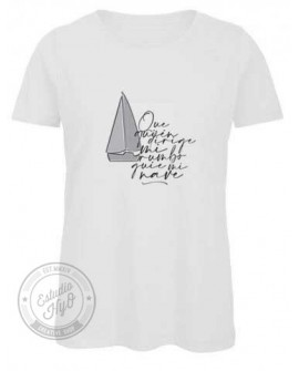 Camiseta John Algodón Orgánico Corte Entallado