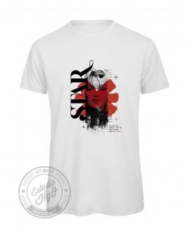 Camiseta Frida Algodón Orgánico Corte Recto