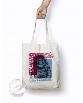 Tote Bag Believe Azul
