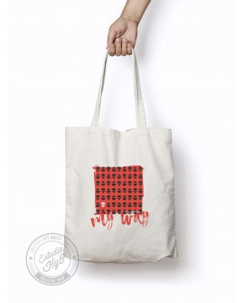 Tote Bag My Way Rojo