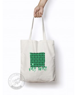 Tote Bag My Way Verde