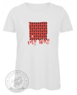 Camiseta My Way Algodón Orgánico Corte Entallado