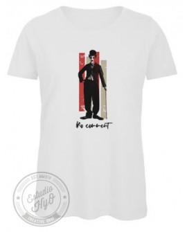 Camiseta No Comment Algodón Orgánico Corte Entallado