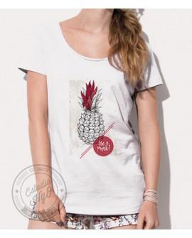 Camiseta Life is Punk Corte Moderno Mujer