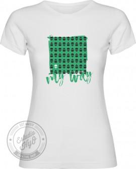Camiseta My Way Corte Entallado