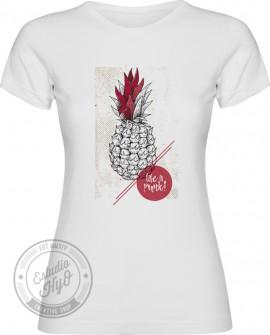 Camiseta Life is Punk Corte Entallado