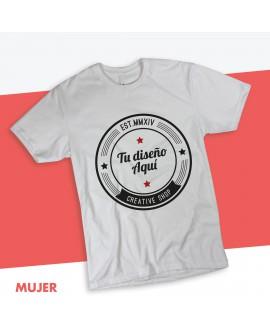 Camiseta Corte Entallado Personalizada HYO
