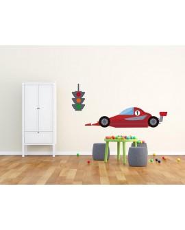 Vinilo Infantil Car