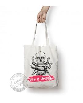 Tote Bag Vivir es Urgente