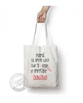 Tote Bag Lo Imposible Personalizado