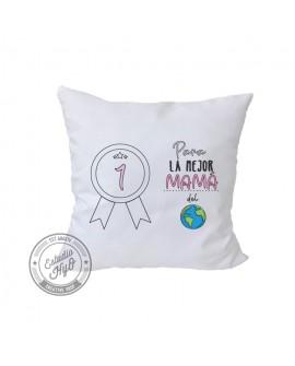 Funda de Cojín La Mejor Mamá